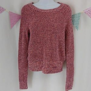 American Eagle Outfitters crewneck sweater peach